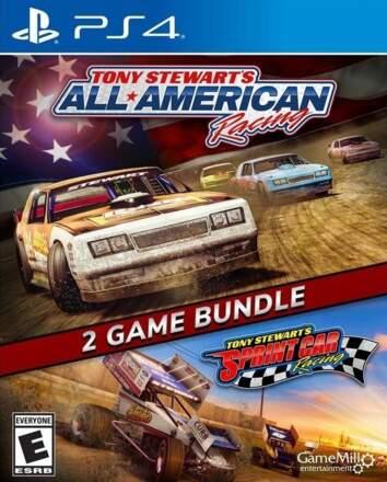 2 Game Bundle: Tony Stewart's All-American Racing + Tony Stewart's Sprint Car Racing