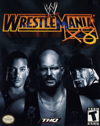 WWE WrestleMania X8