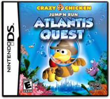 Crazy Chicken: Jump'N Run Atlantis Quest