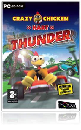 Crazy Chicken Kart: Thunder