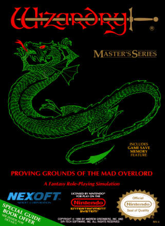 Wizardry: Proving Grounds of the Mad Overlord