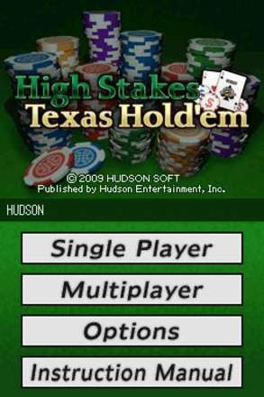 High Stakes: Texas Hold'em