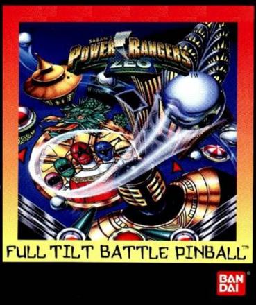 Power Rangers Zeo: Full Tilt Battle Pinball