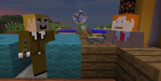 Minecraft versions of O'Brien and Richter