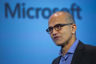 Microsoft CEO Satya Nadella. Photo credit: CNET