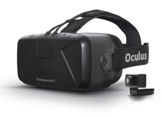 The soon-to-be-released Oculus Rift Dev Kit 2