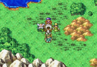 The DS version of Dragon Quest IV.