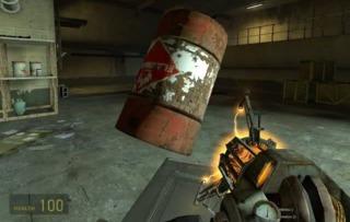 Half-Life 2's gravity gun