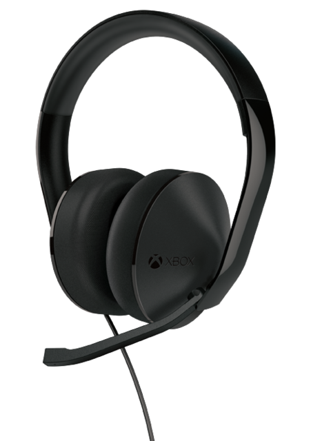 The Xbox One Stereo Headset.