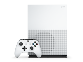 The Xbox One S is a smaller version of the Xbox One, but will support HDR and 4K video streaming.