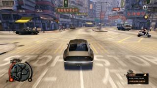 Cars maneuver well in Sleeping Dogs.
