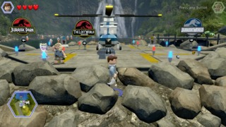 Lego Jurassic World is four games in one.