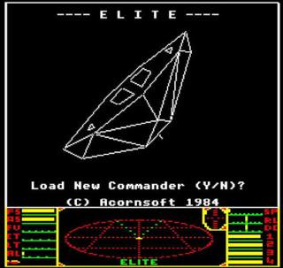 Elite's 3D wireframe visuals were groundbreaking.