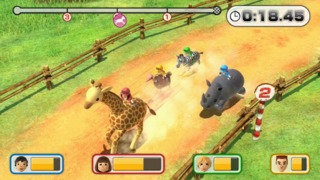 Racing jungle animals: not as exciting as it sounds!