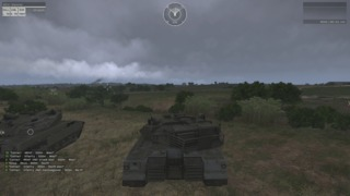 Cloudy, with a chance of artillery fire.