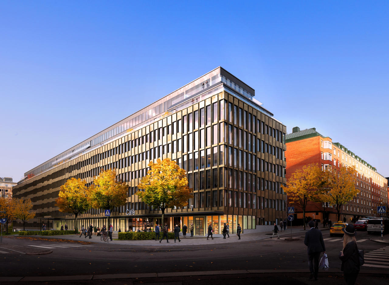 Rendering of Avalanche's new office in Stockholm