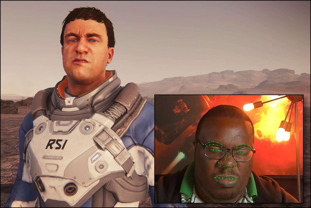 A look at Star Citizen's new Face over IP tech