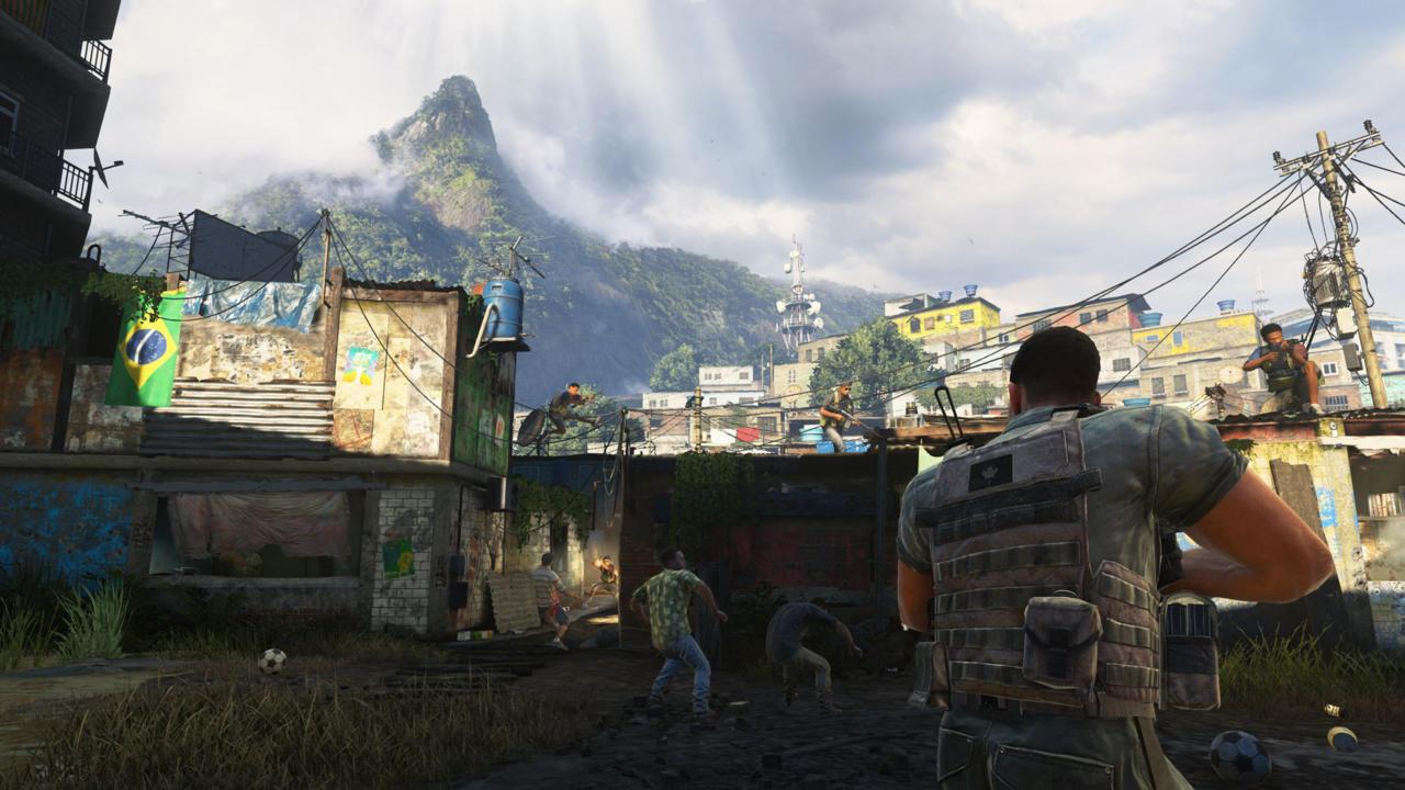 Modern Warfare 2 Remastered's Favela Mission