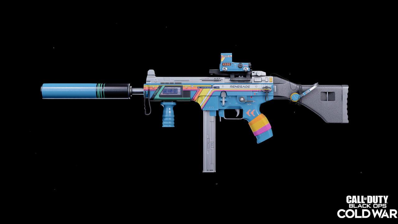 The Retro Renegade weapon