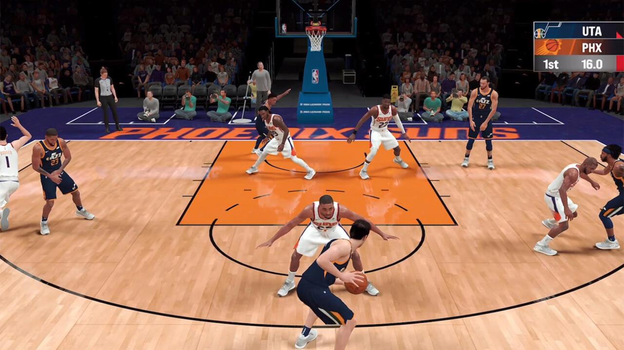A first look at NBA 2K21 Arcade Edition