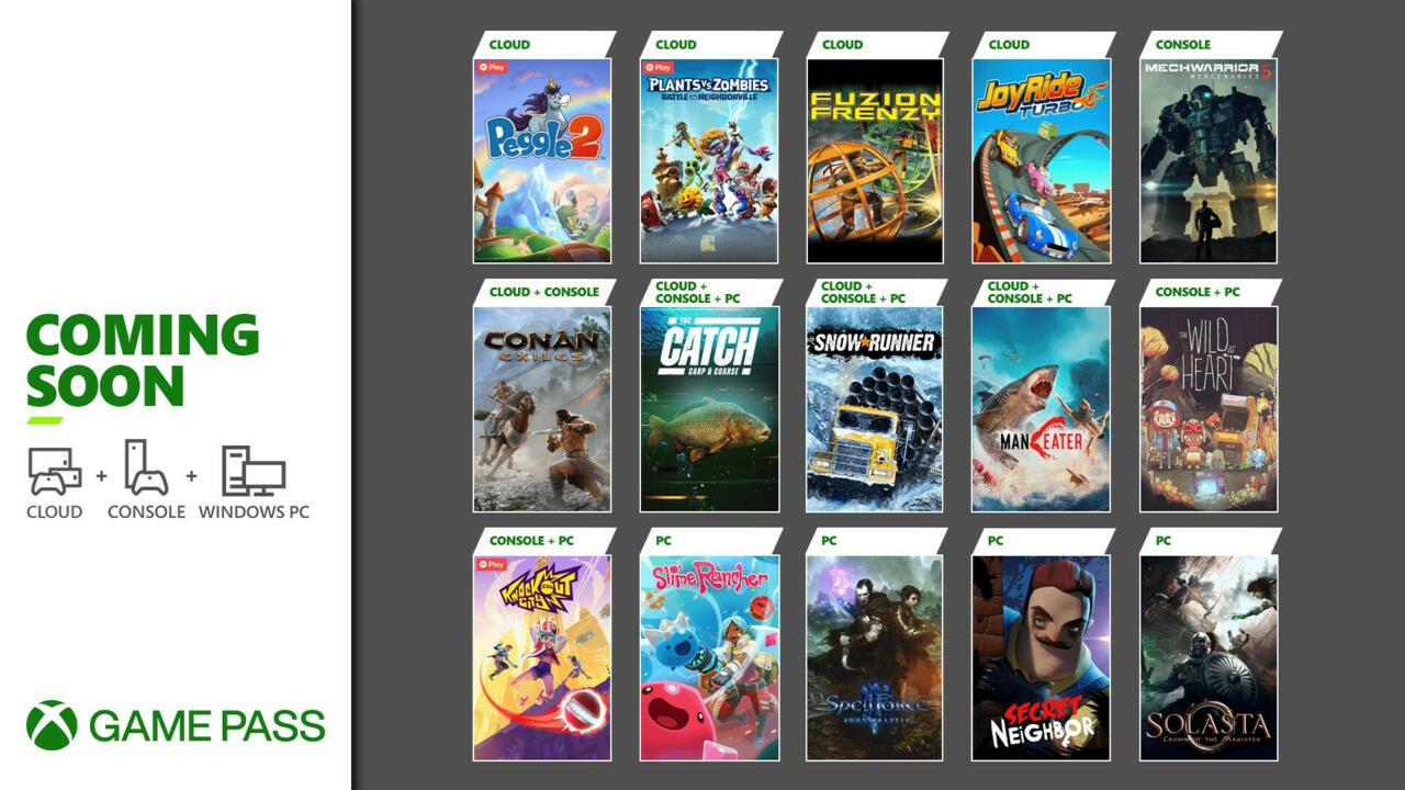 Maio é um mês muito importante para o Xbox Game Pass