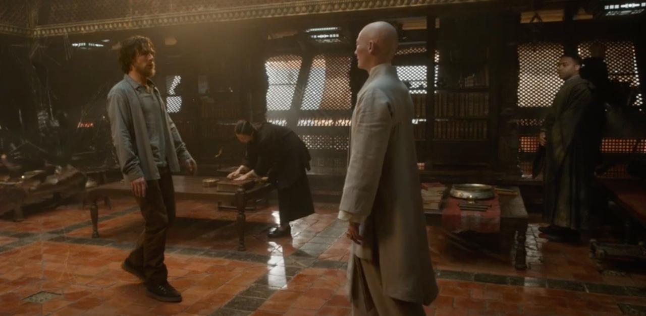 Uma cena de Doctor Strange de 2016