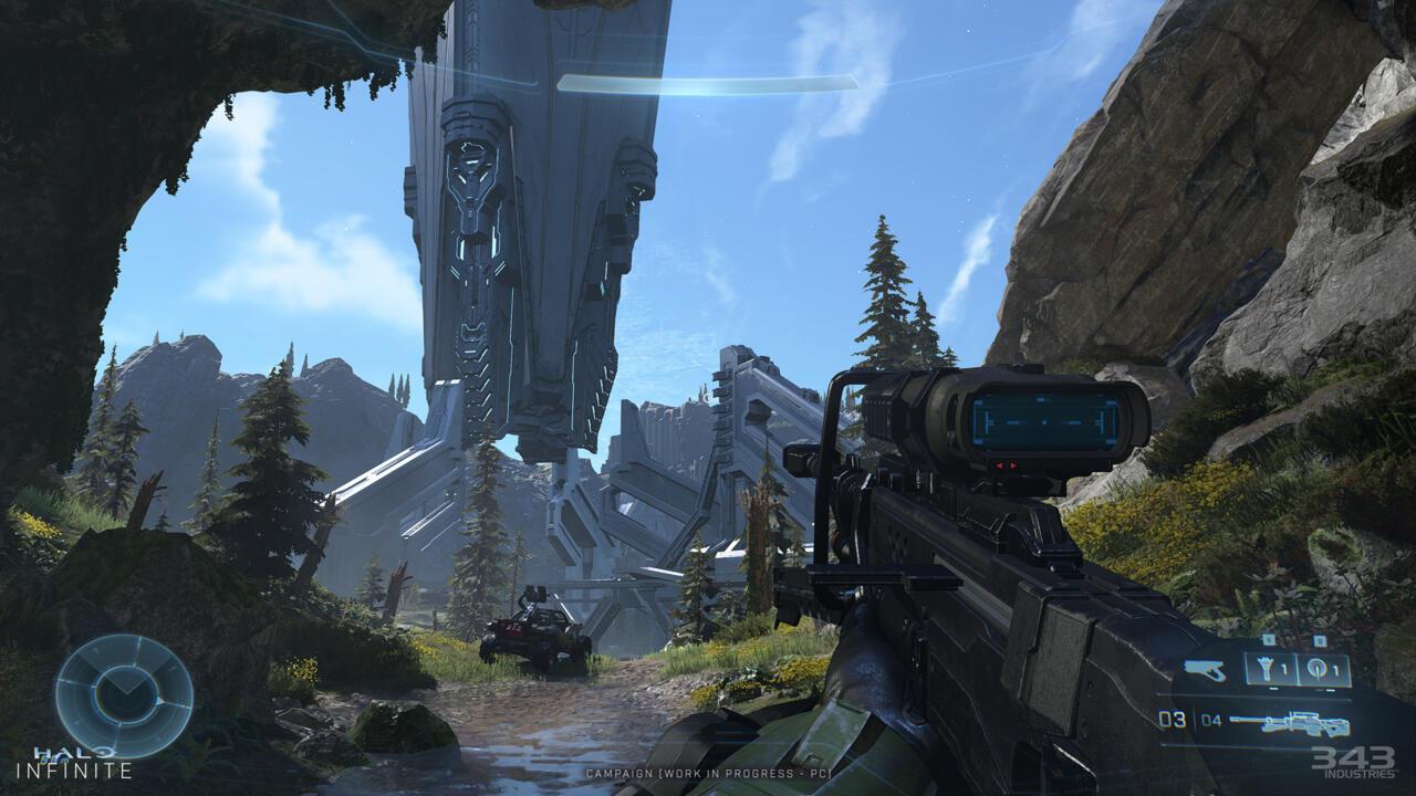 Halo Infinite está parecendo bom