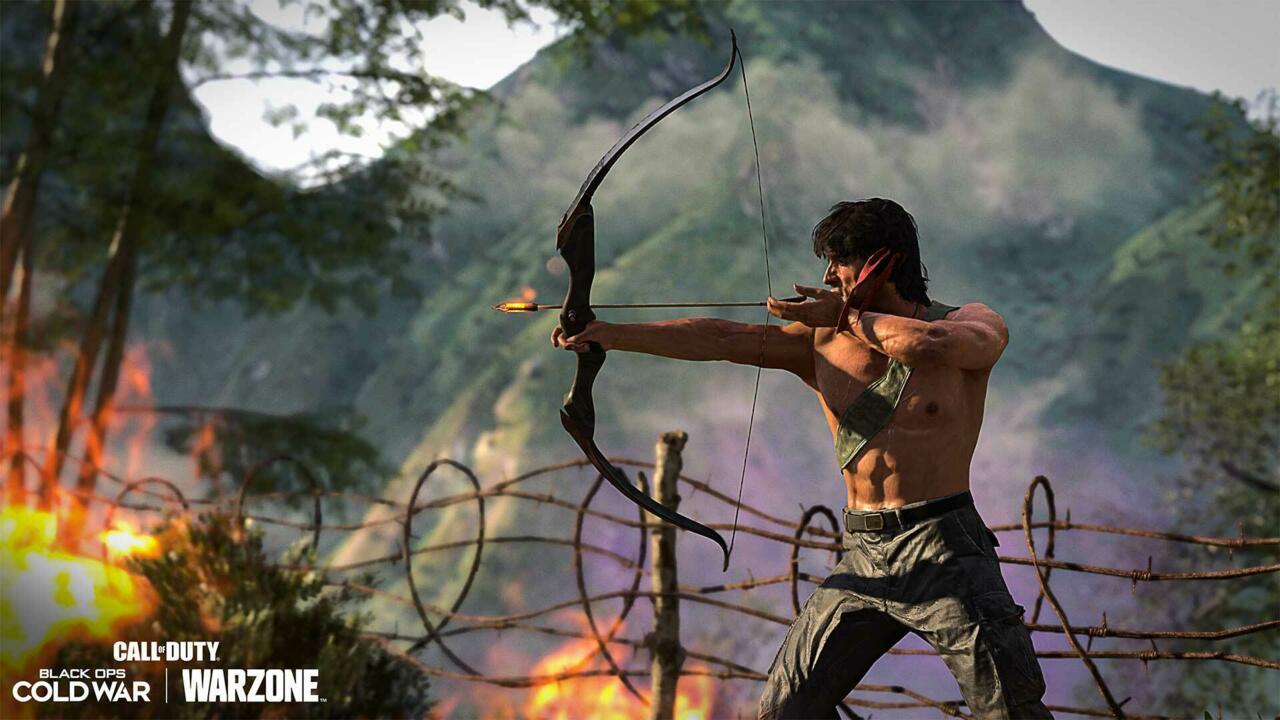 Rambo's Gun Game chega à Guerra Fria Black Ops esta semana