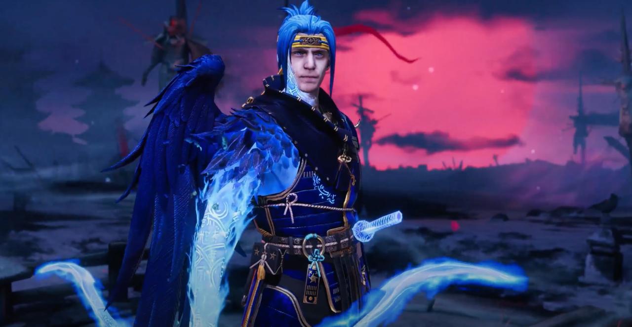 Ninja's character in Raid: Shadow Legends