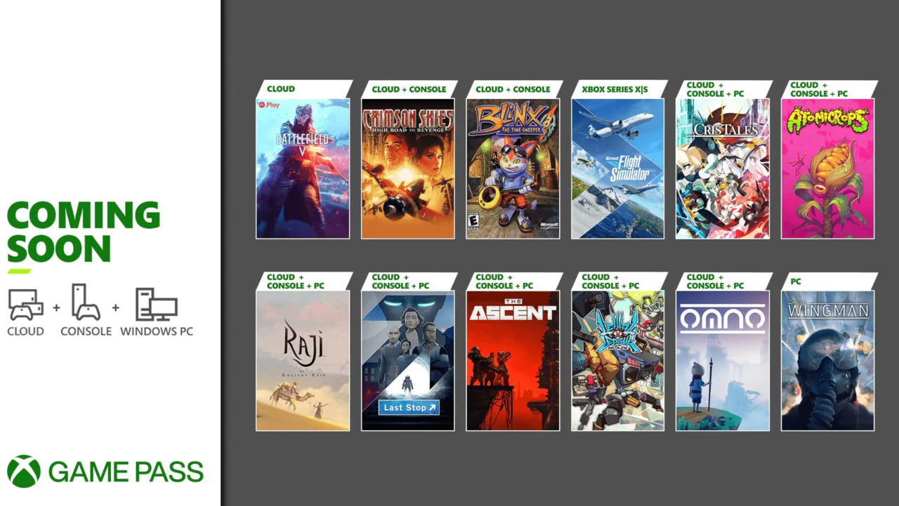 July is a big month for Xbox Game Pass