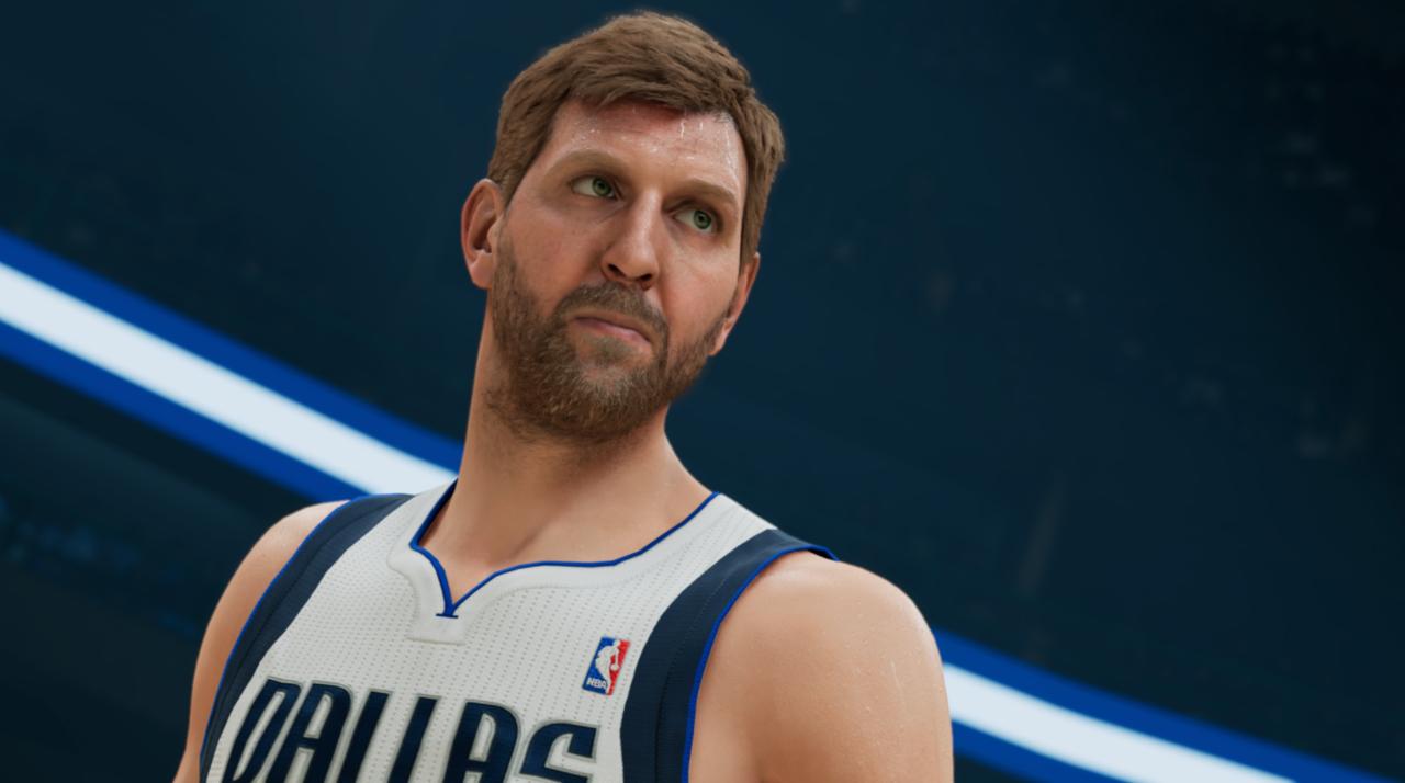 Dirk Nowitzki in NBA 2K22