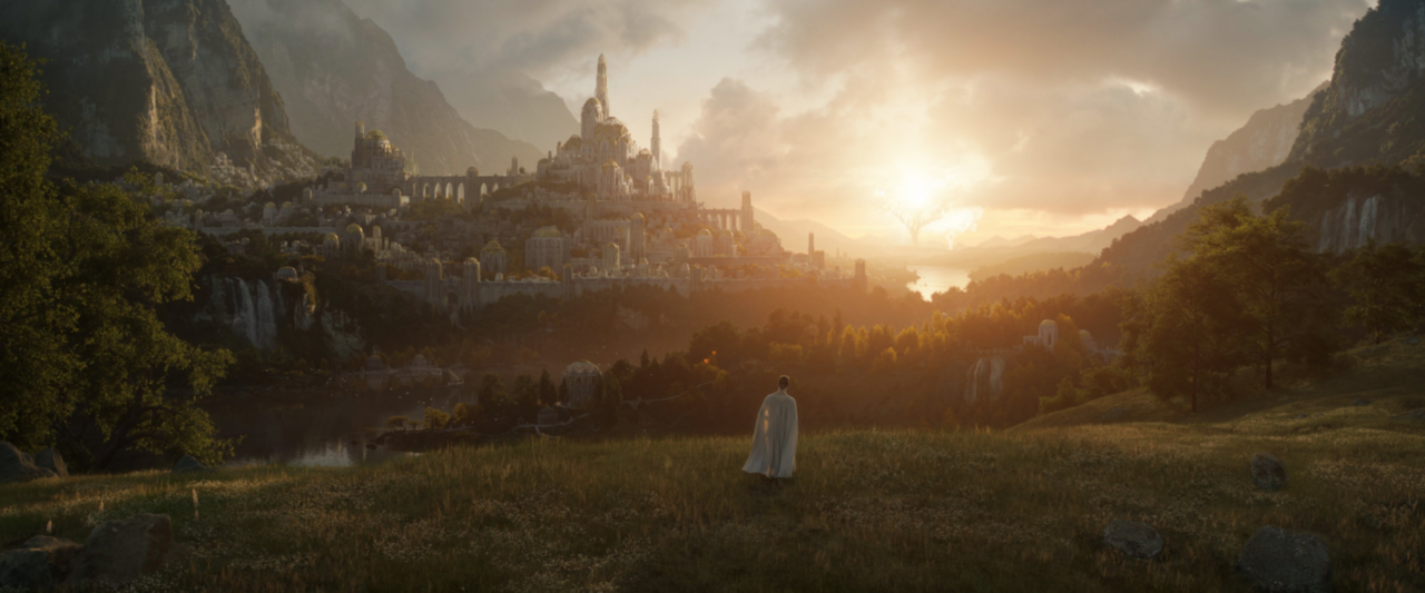 Behold, the first image from Amazon's Lord of the Rings TV show