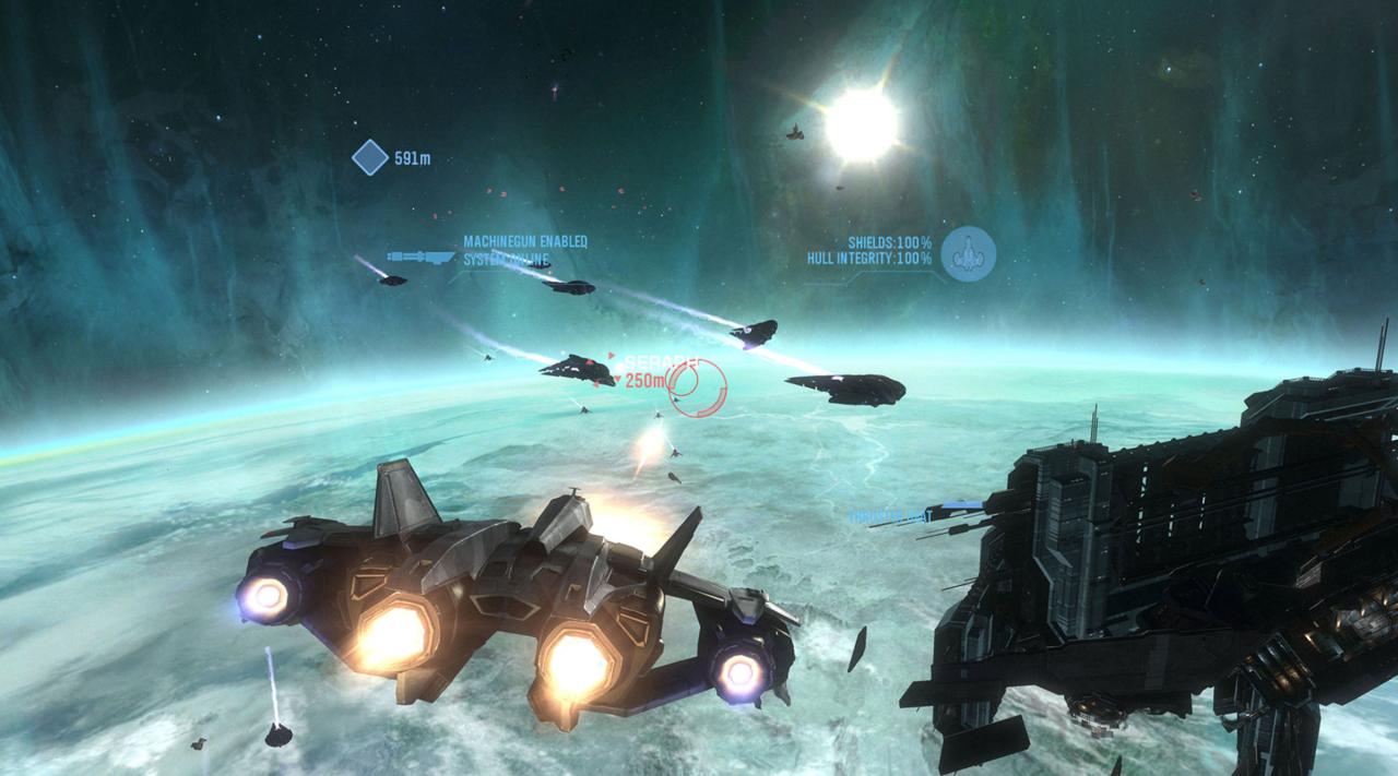 Halo: Reach takes to the skies