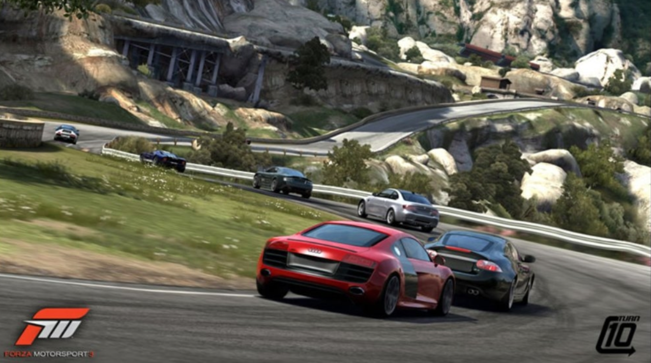 2009's Forza Motorsport 3 was a visual spectacle at the time