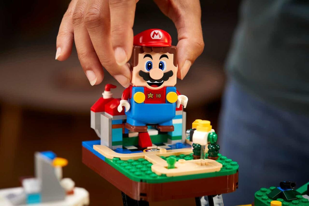 Uno sguardo più da vicino all'immagine di Mario