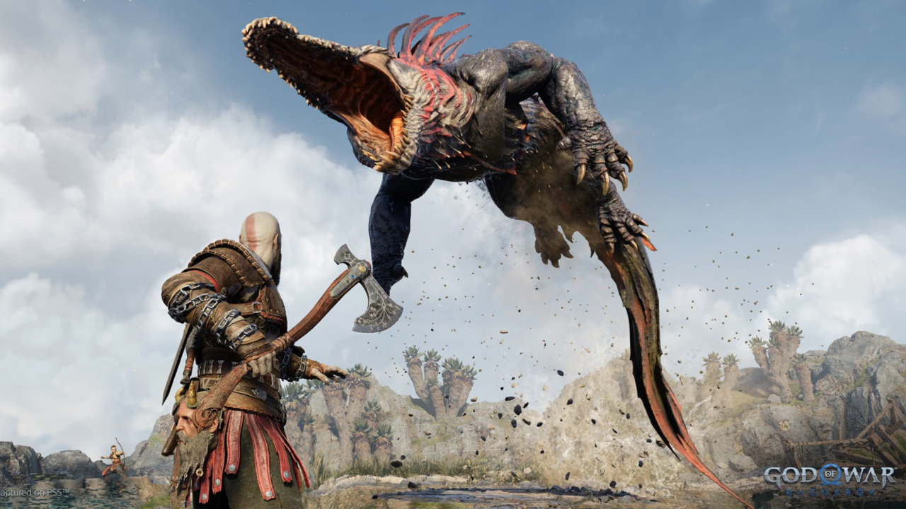 Kratos takes on a new enemy