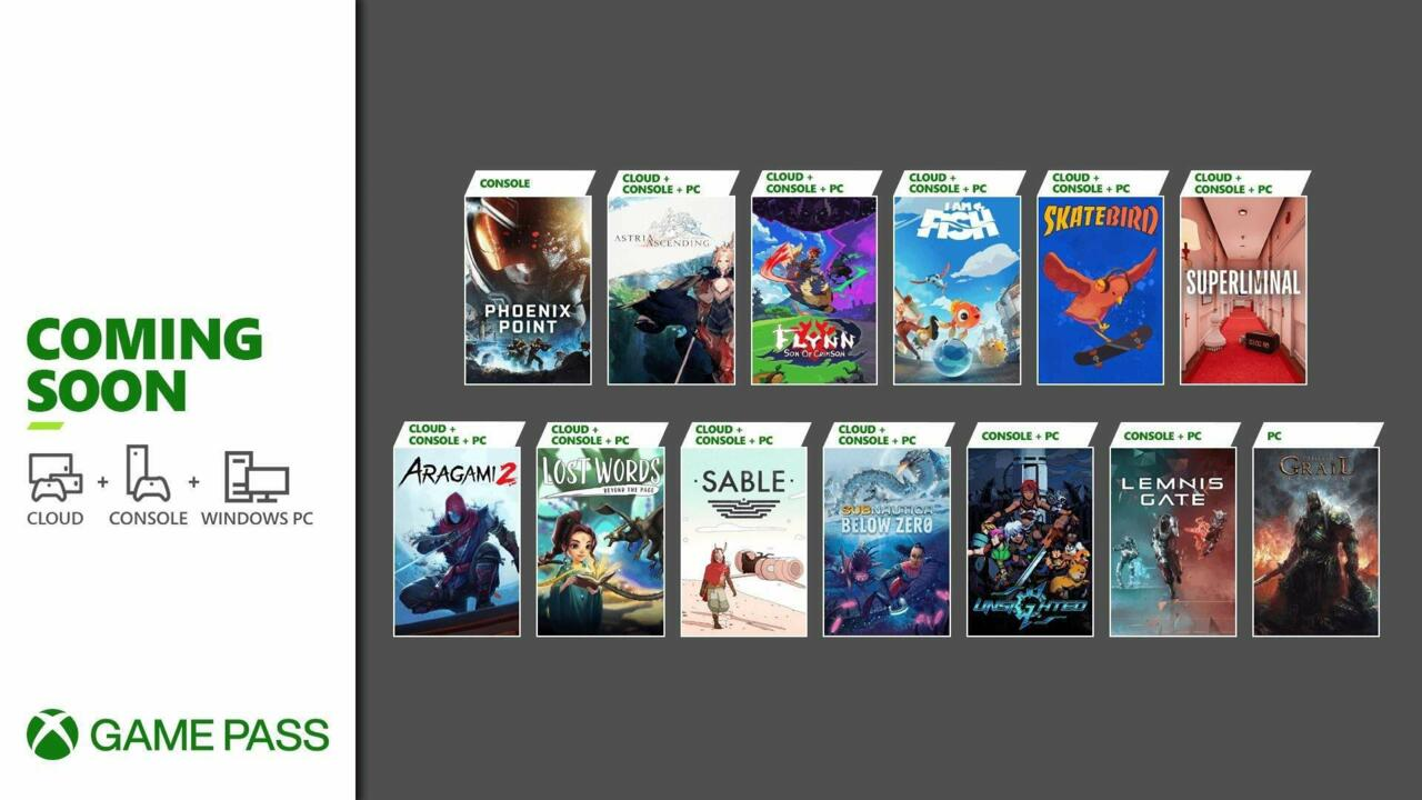 September is another big month for Xbox Game Pass