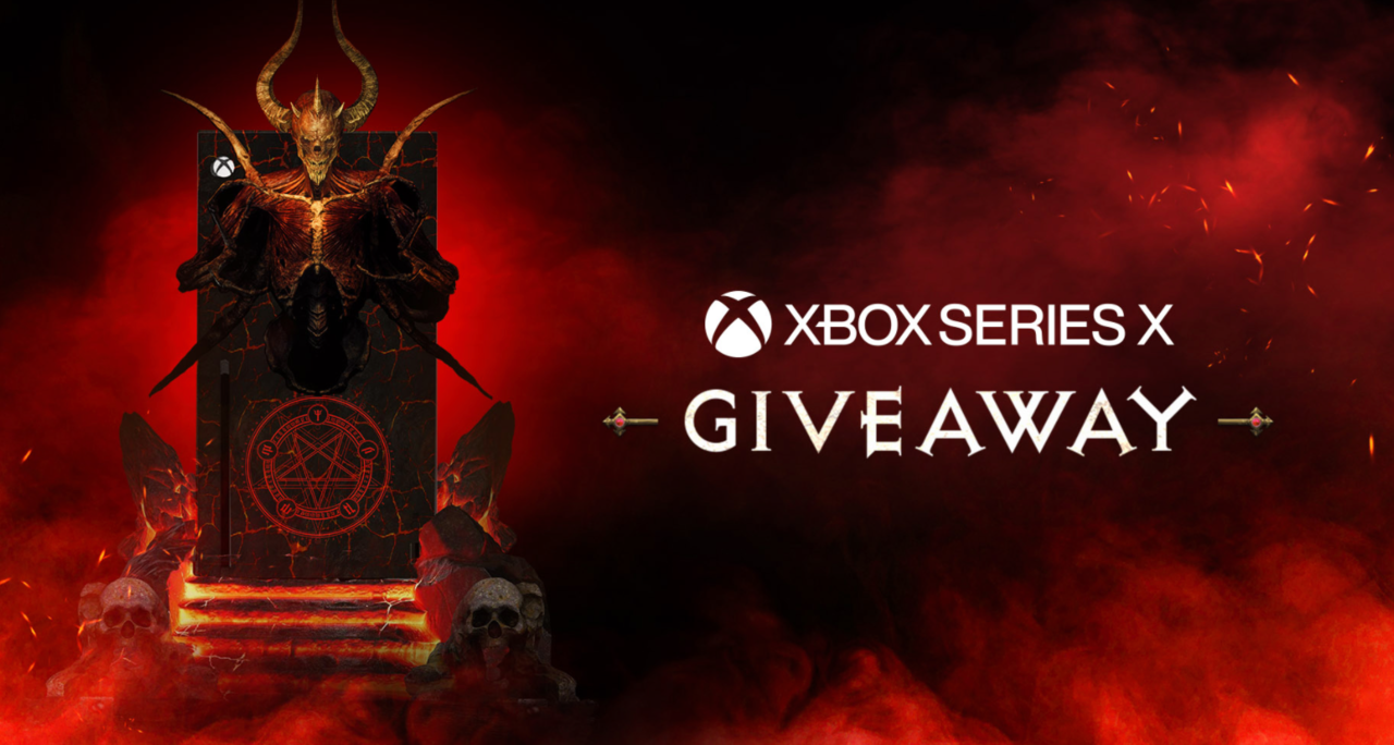 Bring Hell home with this Diablo custom Xbox Series X