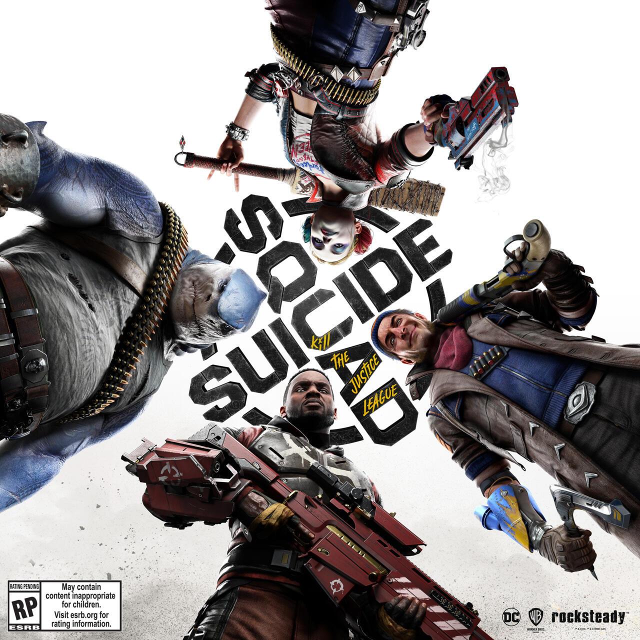 The Suicide Squad: KIll the Justice League key art