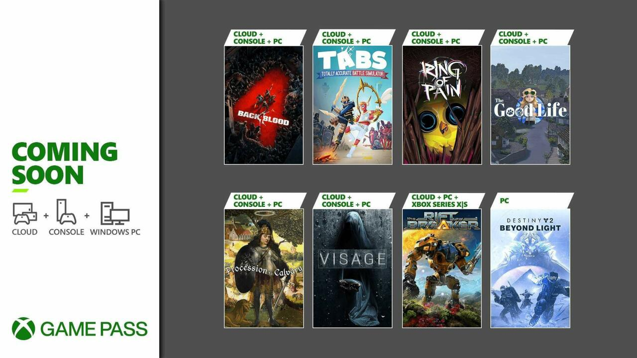 The Xbox Game Pass lineup for October so far