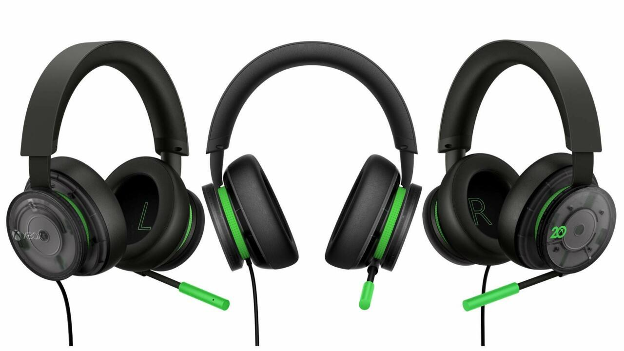The new Xbox headset