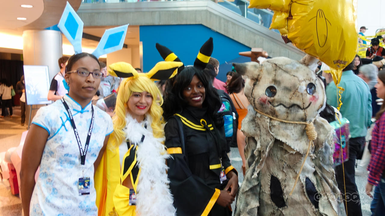 Glaceon, Jolteon, Umbreon, And Mimikyu (Pokemon)