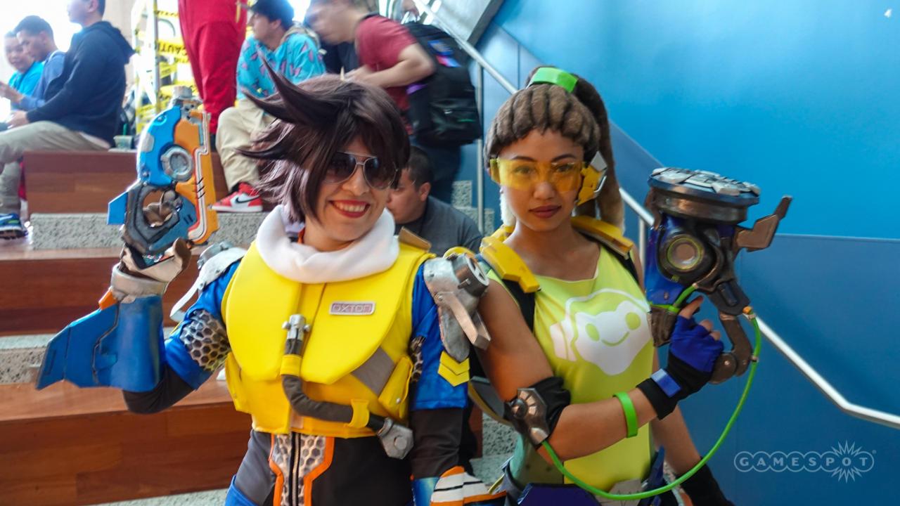 Slipstream Tracer And Lucio (Overwatch)