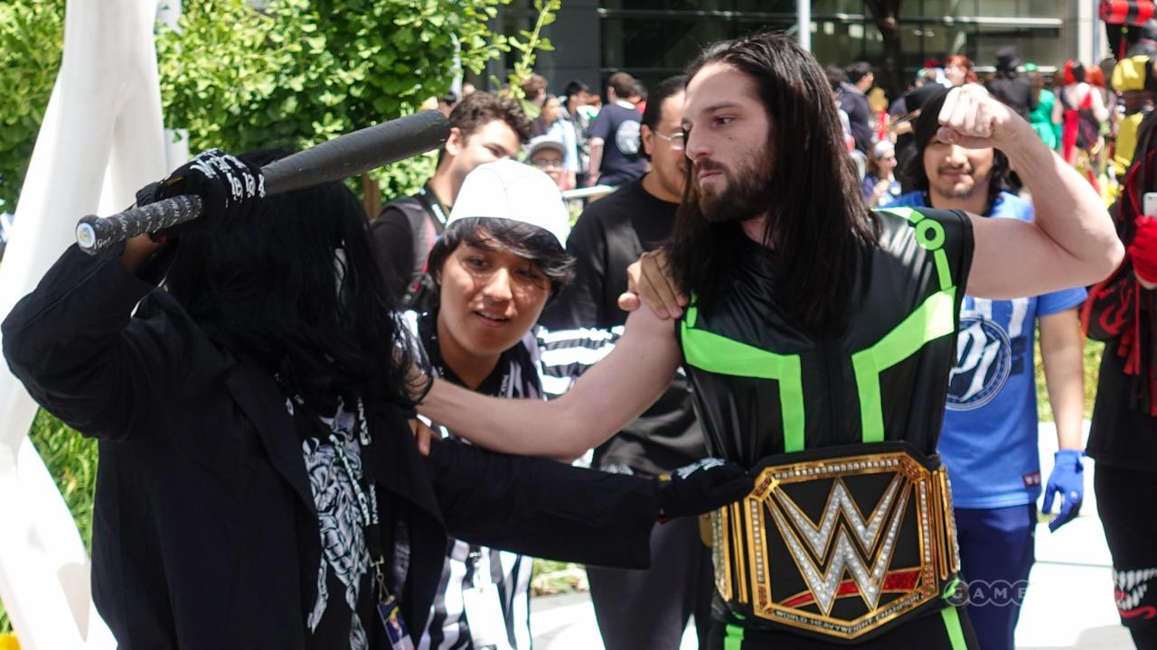 Sting And Seth Rollins (WWE)