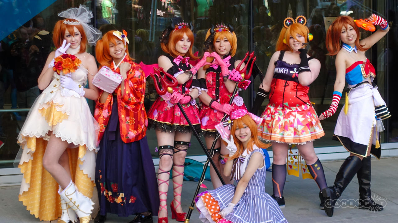 Honoka Kousaka Group (Love Live!)