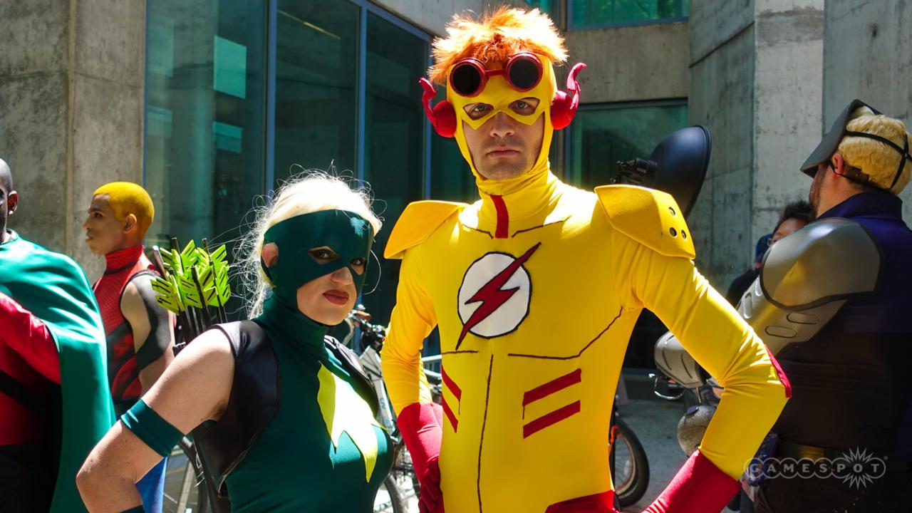 Green Arrow And Kid Flash (DC Comics)