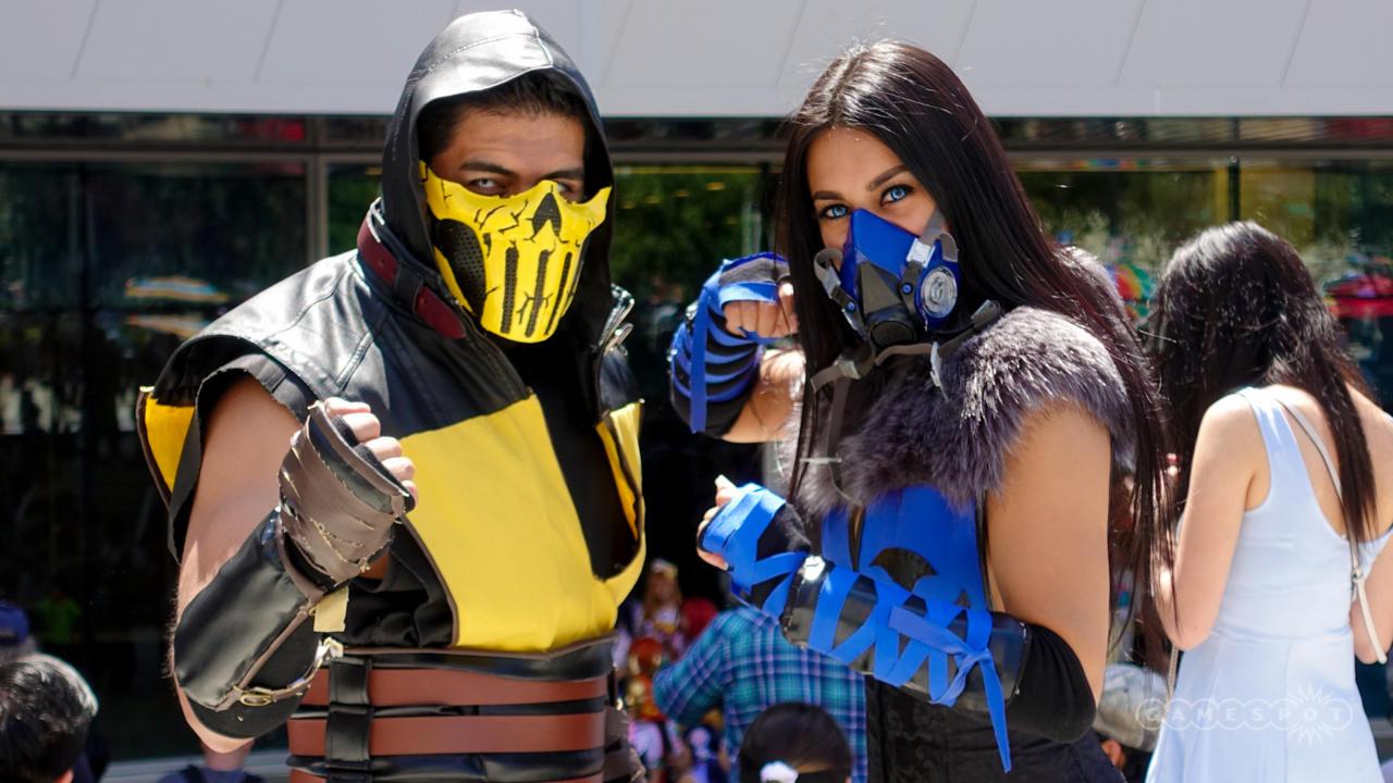 Scorpion And Sub-Zero (Mortal Kombat)