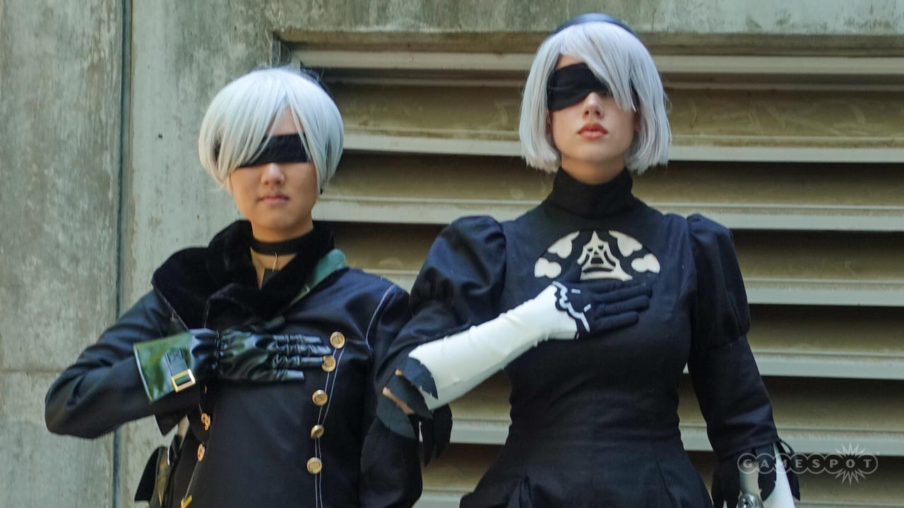9S And 2B (Nier: Automata)