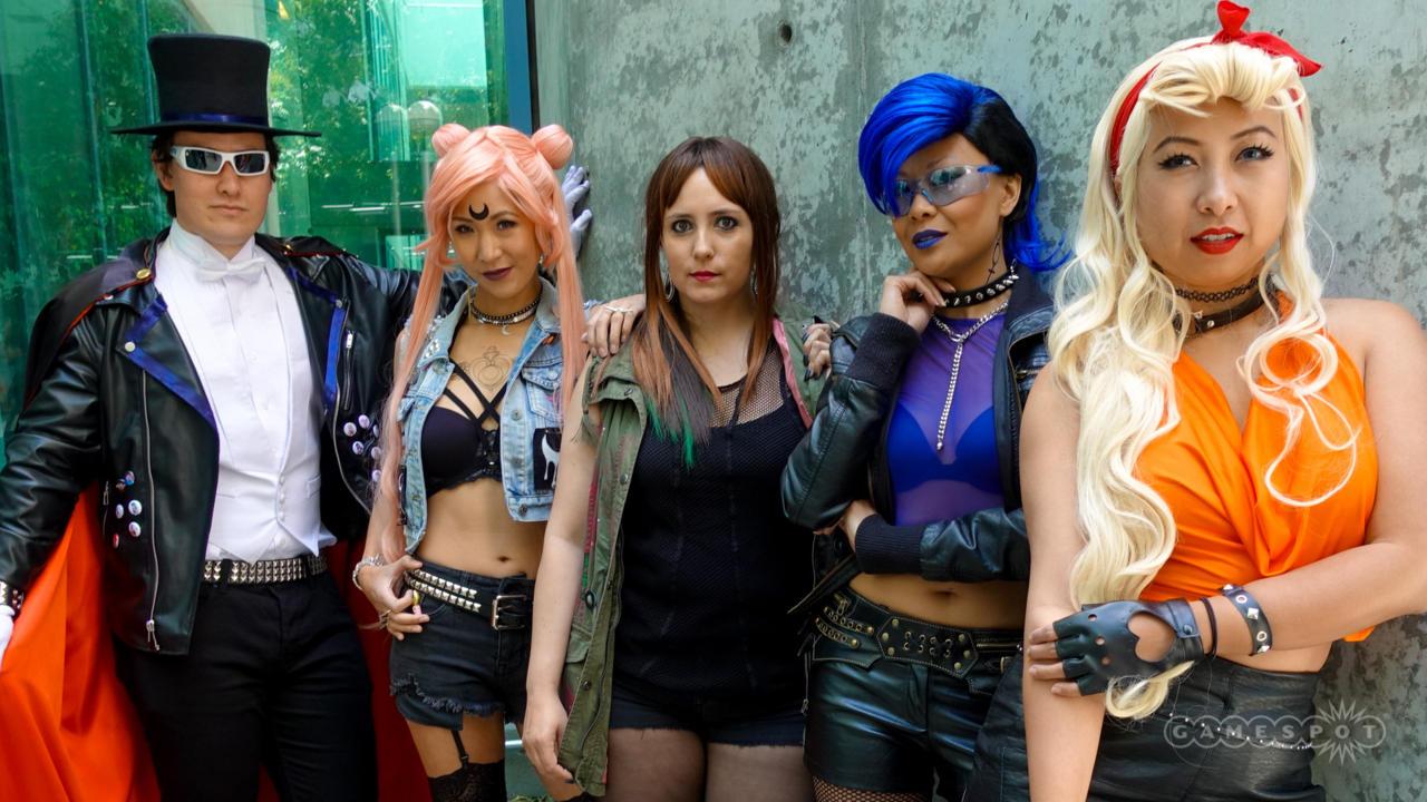 Punk Sailor Moon Group