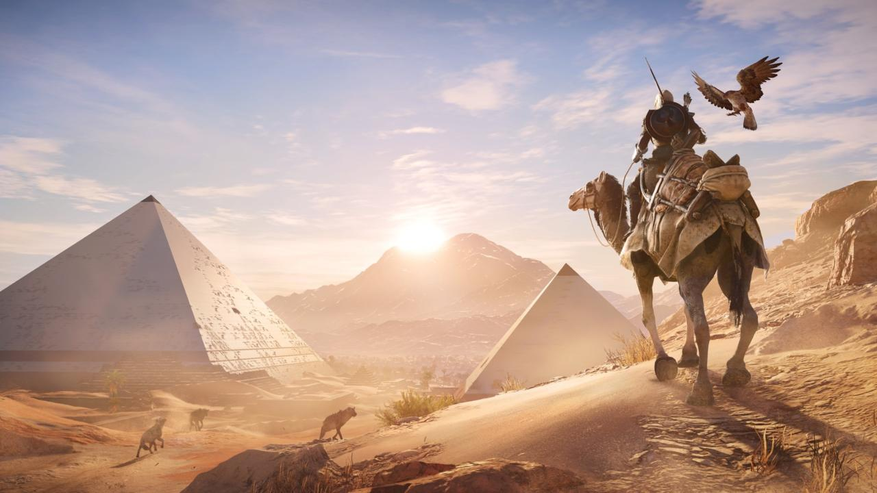 A scene from Assassin's Creed Origins